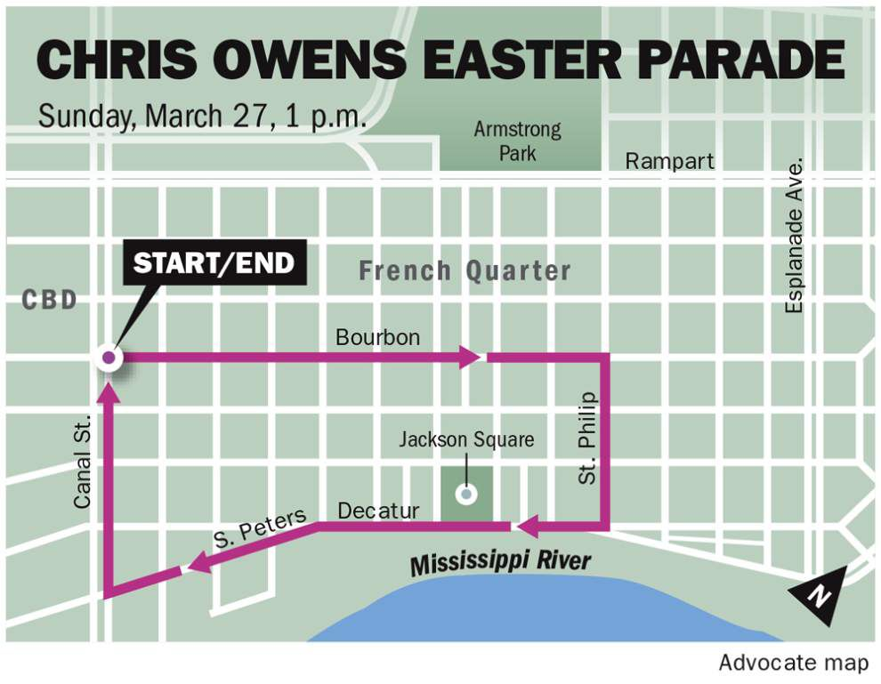Celebrate Easter in New Orleans with egg hunts, bunny breakfasts, bar hops and parades _lowres
