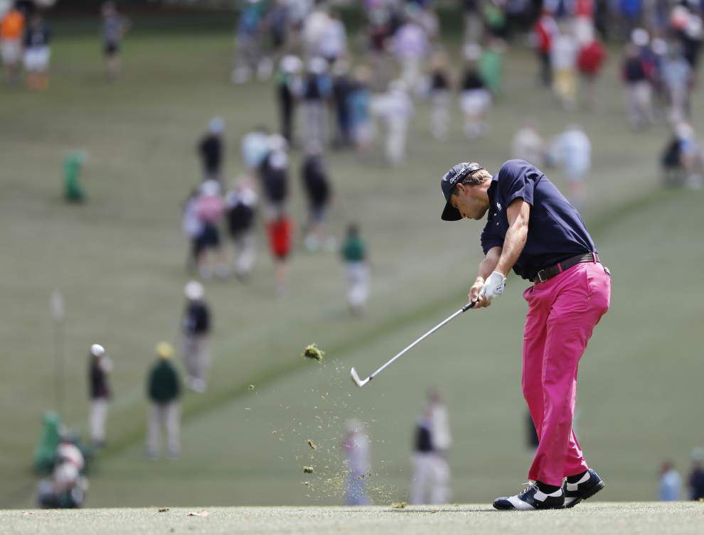 Louisiana golfers find going tough in first round of Masters _lowres