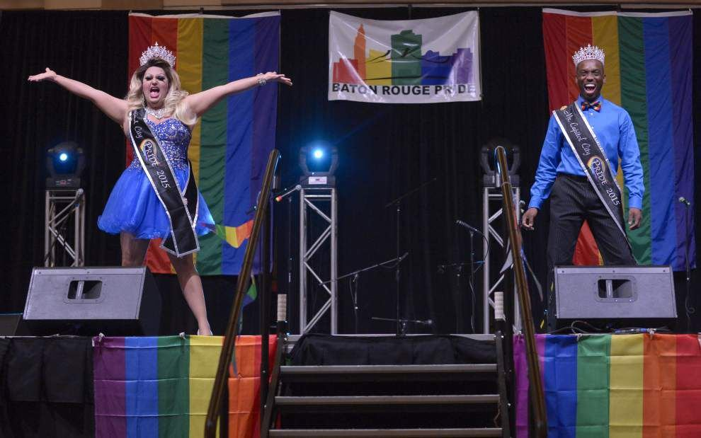 'Pride Fest' visitors gather in Baton Rouge for annual celebration; await court ruling on same sex marriage _lowres
