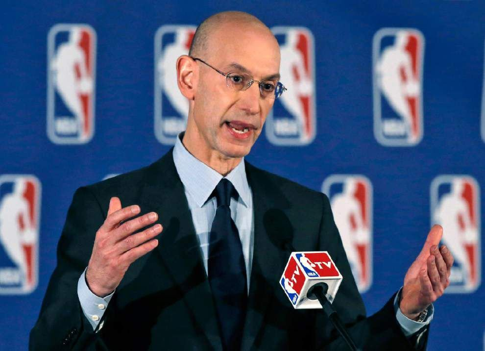 Commissioner Adam Silver says NBA will review domestic violence policies _lowres
