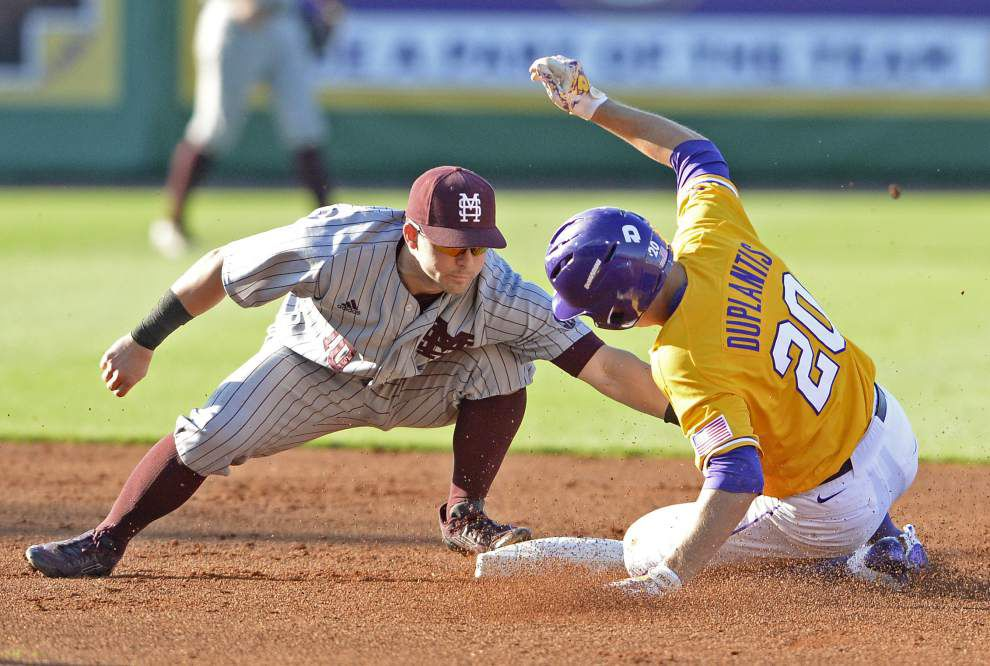 'There's no margin for error': LSU baseball stymied, defensive lapses spoil Alex Lange's complete game in loss to Mississippi State _lowres