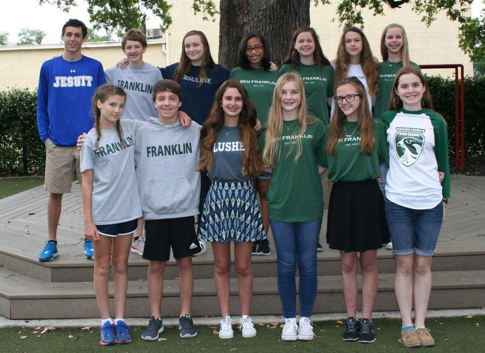 St. Andrew's Episcopal School honors departing eighth-graders _lowres
