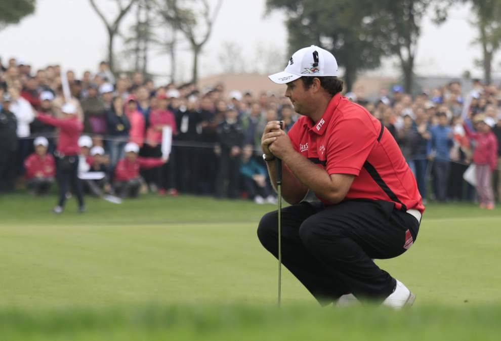 Kristoffer Broberg defeats Patrick Reed in playoff to win BMW Masters _lowres