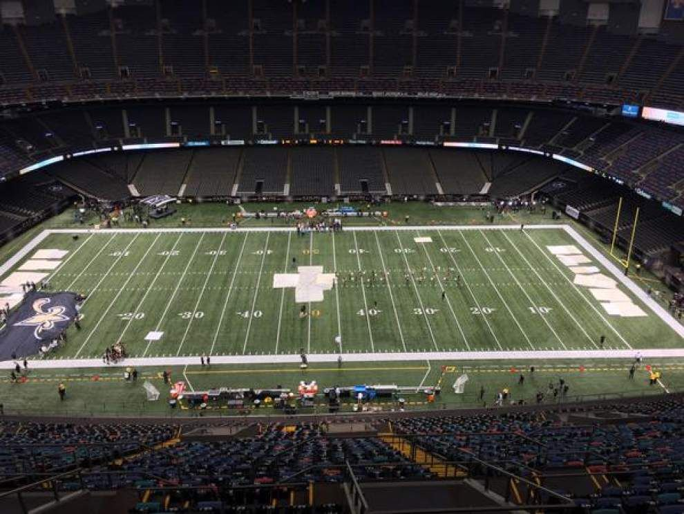 Welcome to the Superdome for tonight's game between the Saints and Falcons _lowres