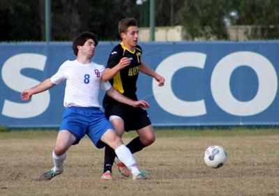 Haynes Academy clips Country Day in boys soccer _lowres
