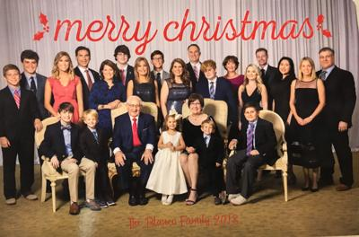 Blanco Christmas card