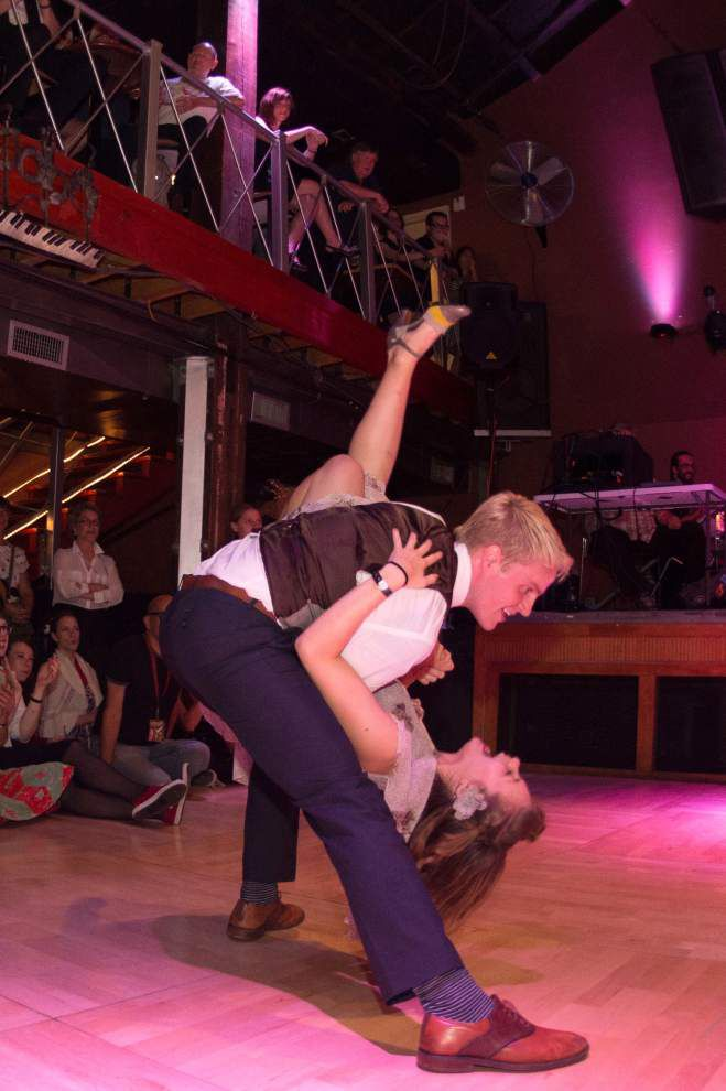 Lindy Hop Showdown offers spectacle for everyone, from wannabes to pros _lowres