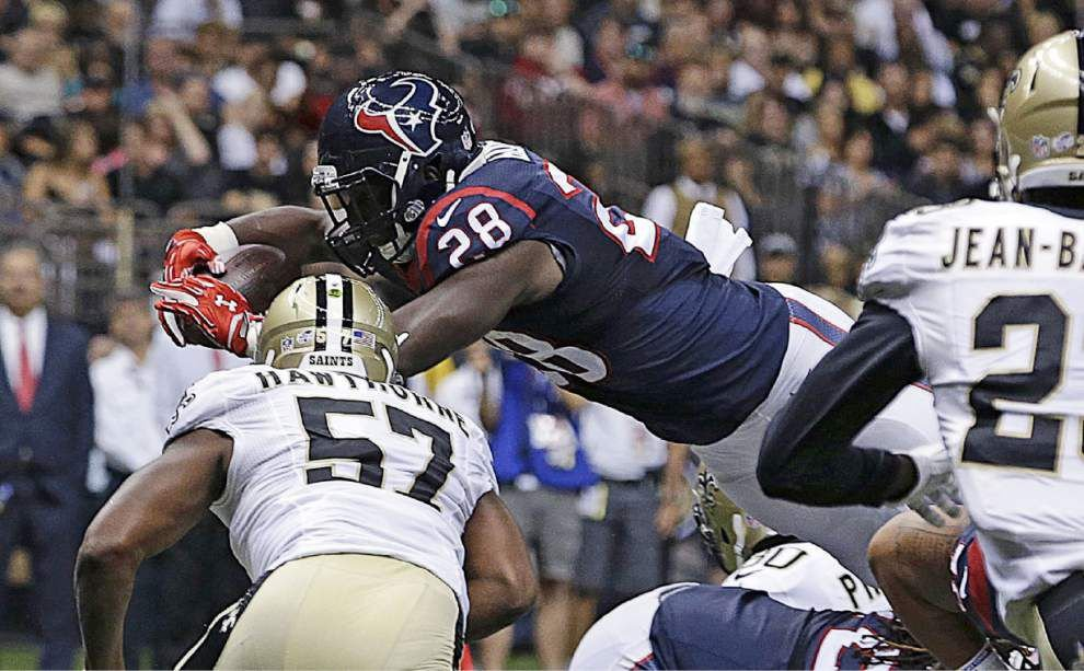 Houston running back Alfred Blue gets better result this time at Superdome _lowres