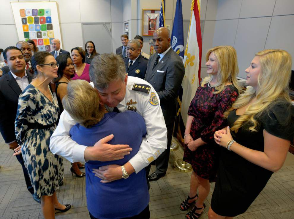After four years, a changing of the NOPD guard _lowres