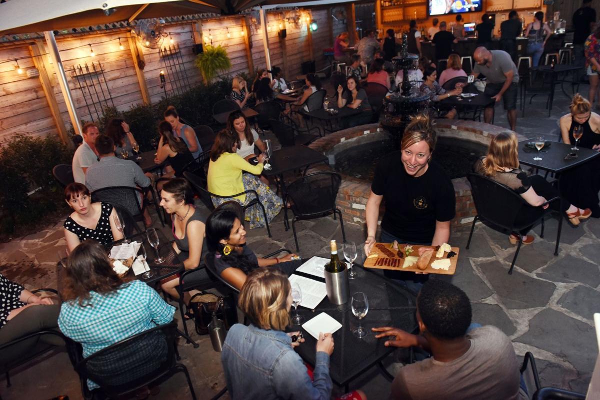 Review: Bayou Wine Garden builds on Mid-City's popular beer garden_lowres