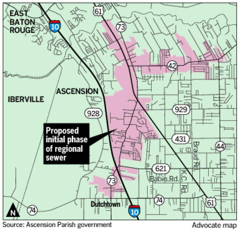Ascension officials dismayed, but not deterred, by sewer study _lowres