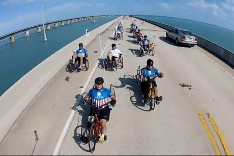Wounded warriors soak up adventure in Florida Keys _lowres