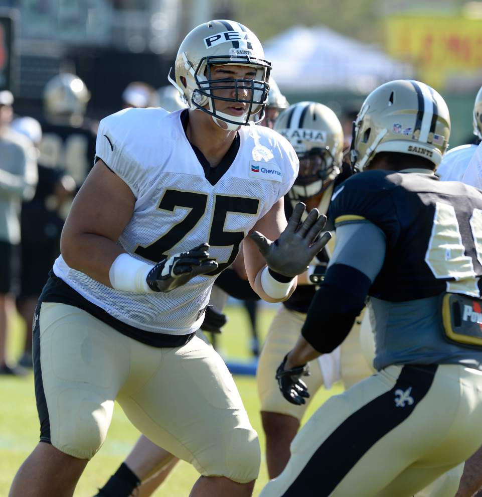 The five biggest headlines from the first week of Saints training camp _lowres