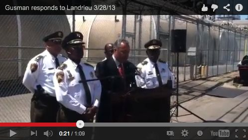 Landrieu: jail consent decree could mean layoffs and sweeping cuts_lowres
