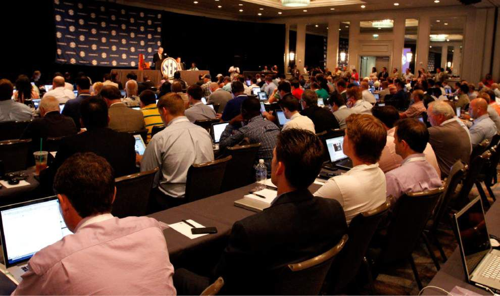 Four Downs: Monday at SEC media days _lowres