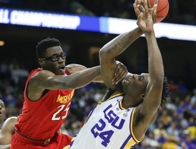 NCAA Maryland LSU Basketball