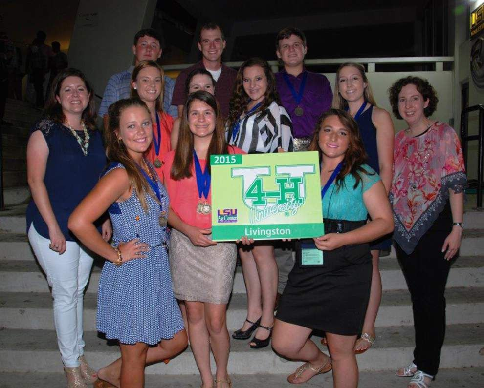Livingston members compete in 4-H University _lowres