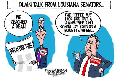 Walt Handelsman: Louisiana Senators...