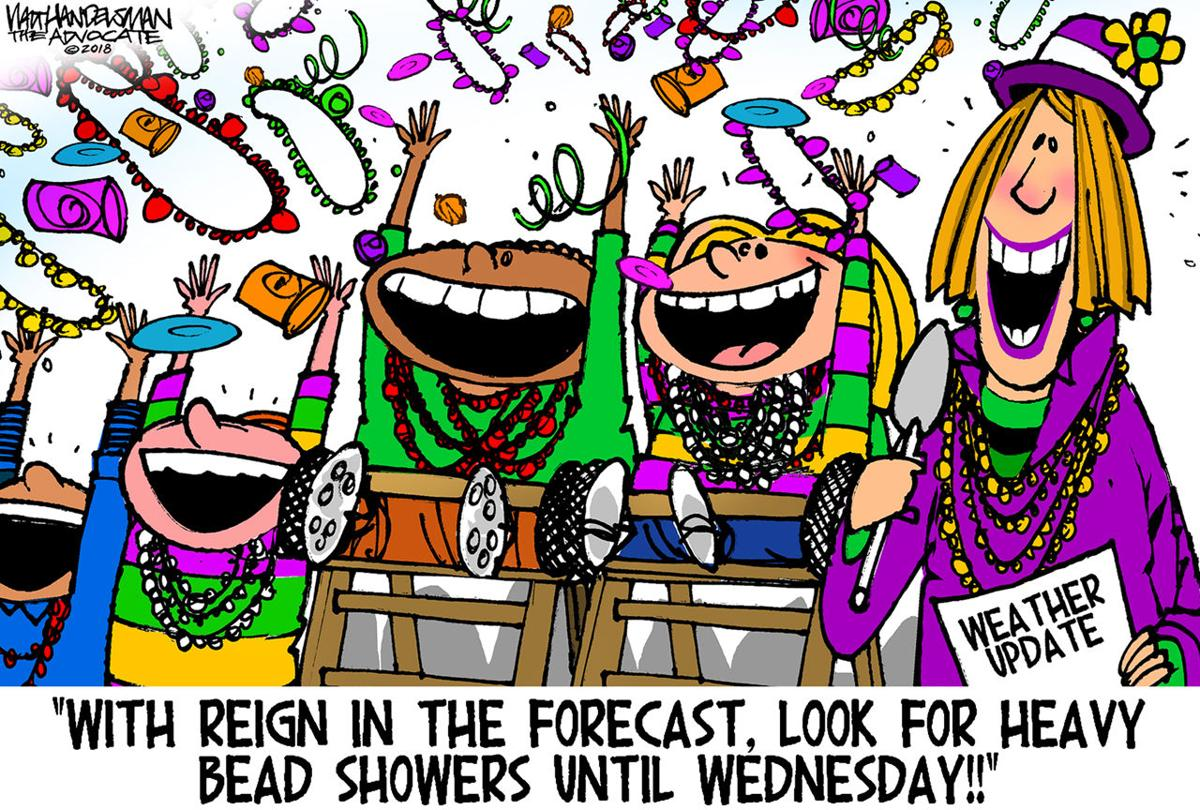 Walt Handelsman: Expect Showers