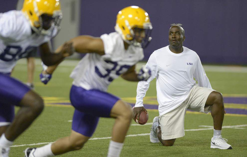 Photos: LSU's afternoon practice shows wide receivers, running backs, fullbacks and more _lowres