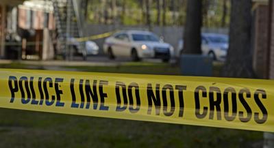 Baton Rouge crime scene