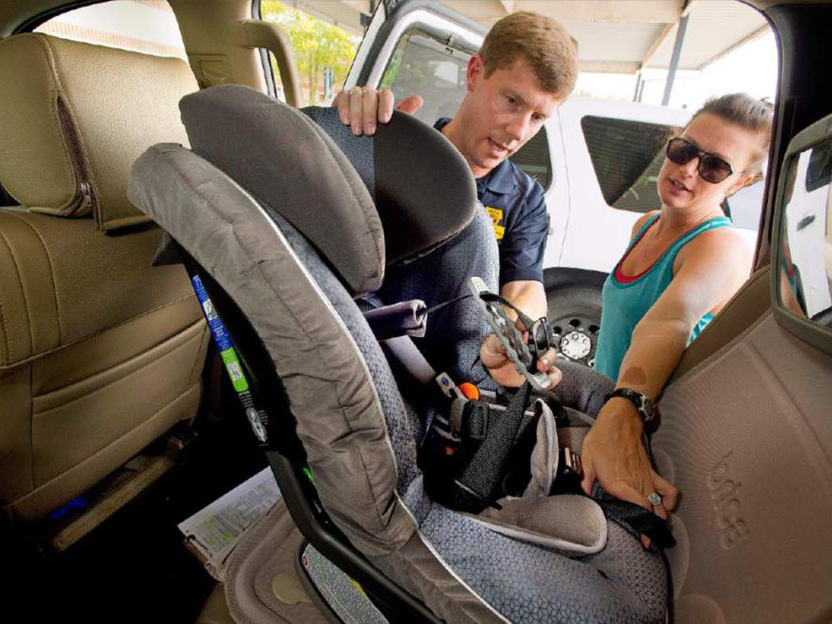 New Louisiana Child Car Seat Law Goes, Is It Illegal To Have A Car Seat Facing Forward