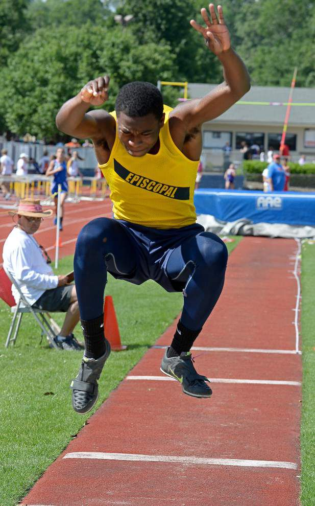 Jeremiah Mayes' three wins in jumps boost Episcopal to Region 2 title _lowres