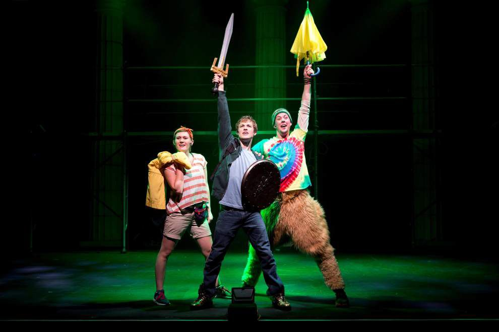 St. Amant High grad returns as 'Lightning Thief' star in local production _lowres