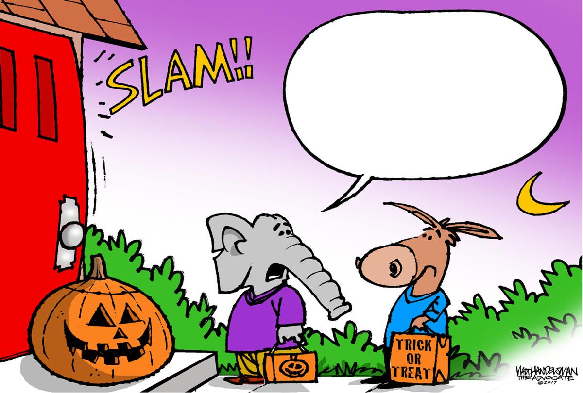 Walt Handelsman: Halloween Caption Contest