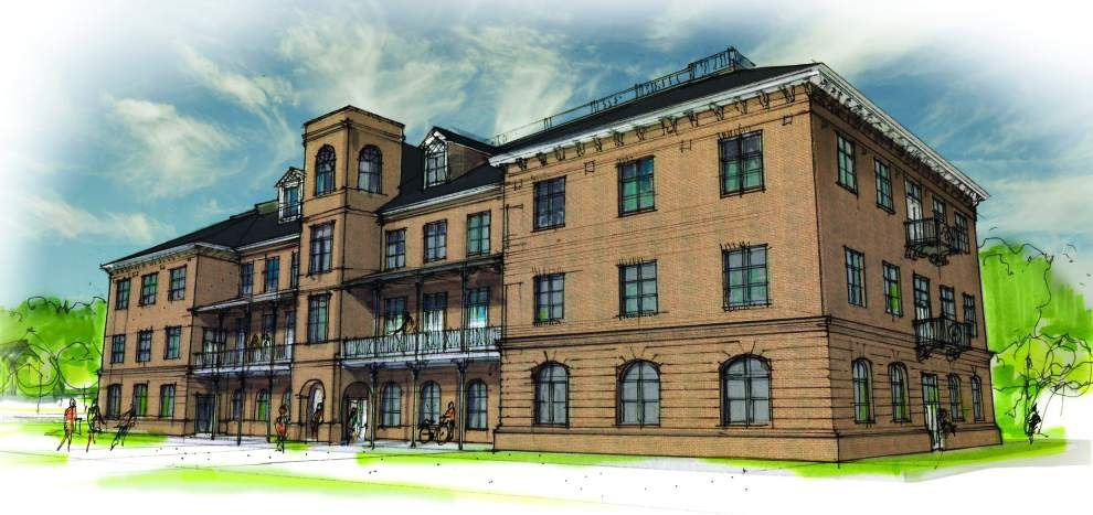 Work to start in early 2016 on redevelopment of former Holy Cross School site _lowres