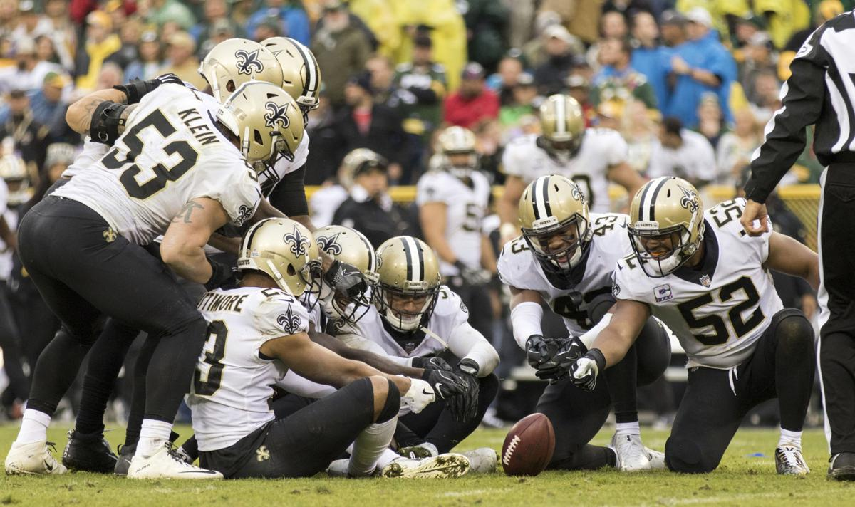 Brees gratified by help from Saints' running game, defense