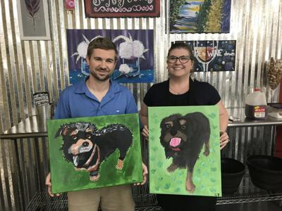 Painting With A Purpose Raises Money For Cat Haven Mid City