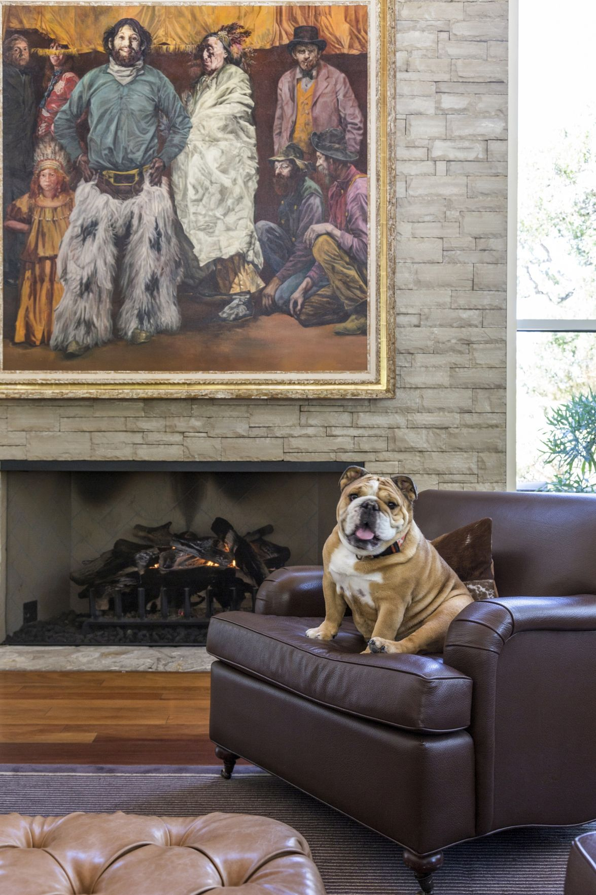 Dogs Are All Over The Furniture And Design In Photographer Sara Essex Bradleys New Dcor Book