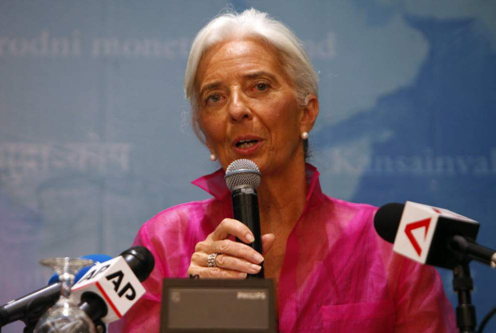 IMF head urges caution to avoid harming recovery _lowres
