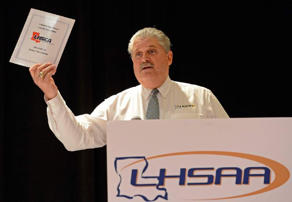 LHSAA executive director Eddie Bonine says the majority of schools don't want a split association _lowres