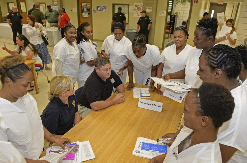 Job fair introduces East Baton Rouge inmates to job opportunities after jail _lowres