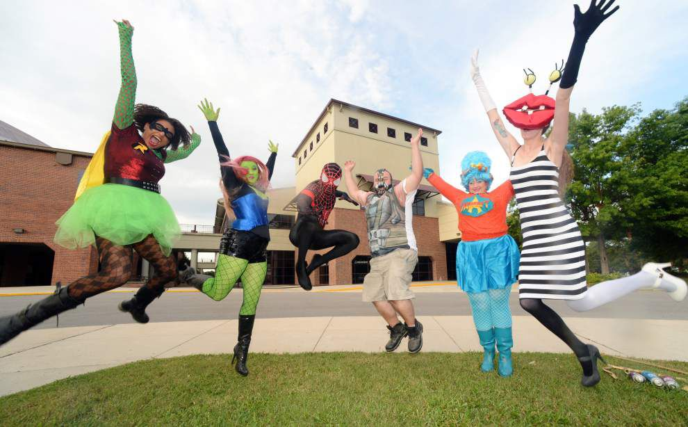 Calling all geeks and fantasy fans: Louisiana Comic Con is coming to Lafayette on Oct. 17-18 _lowres