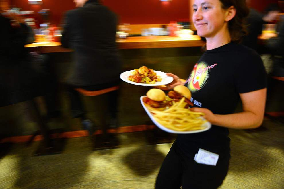 At more restaurants around town, breakfast is their business, and business is good _lowres