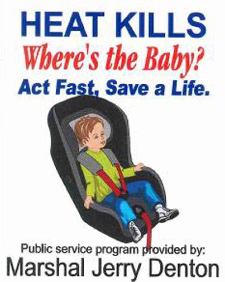 Raising awareness of children left in vehicles _lowres
