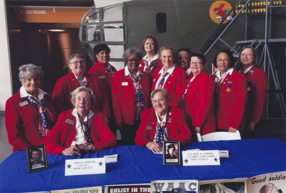La. Women Veterans honor women who served in WWII _lowres