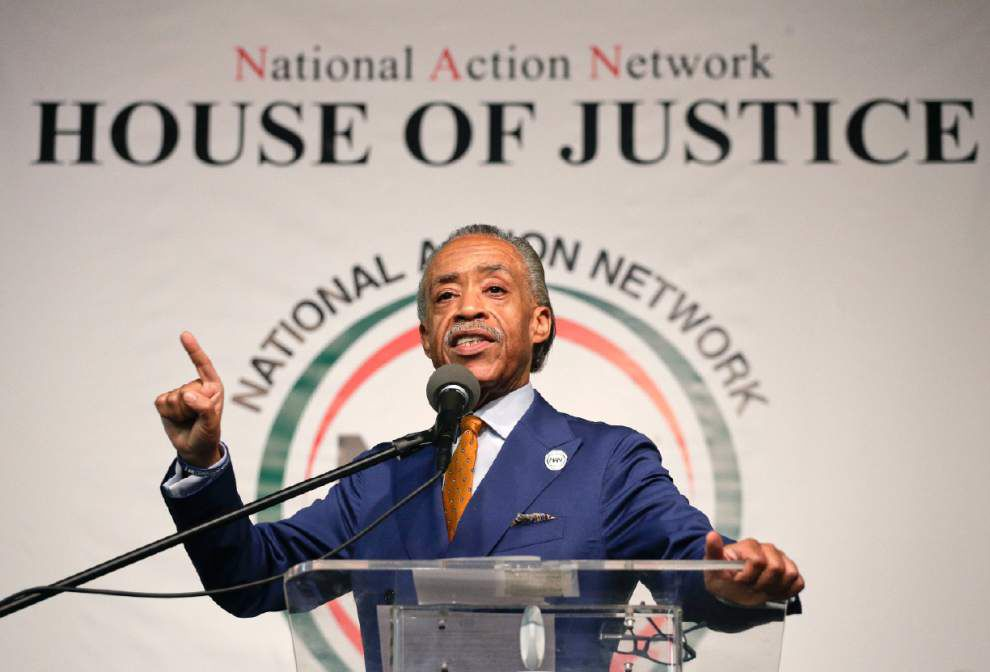 Al Sharpton says he's coming to Baton Rouge, meeting with Alton Sterling's family _lowres