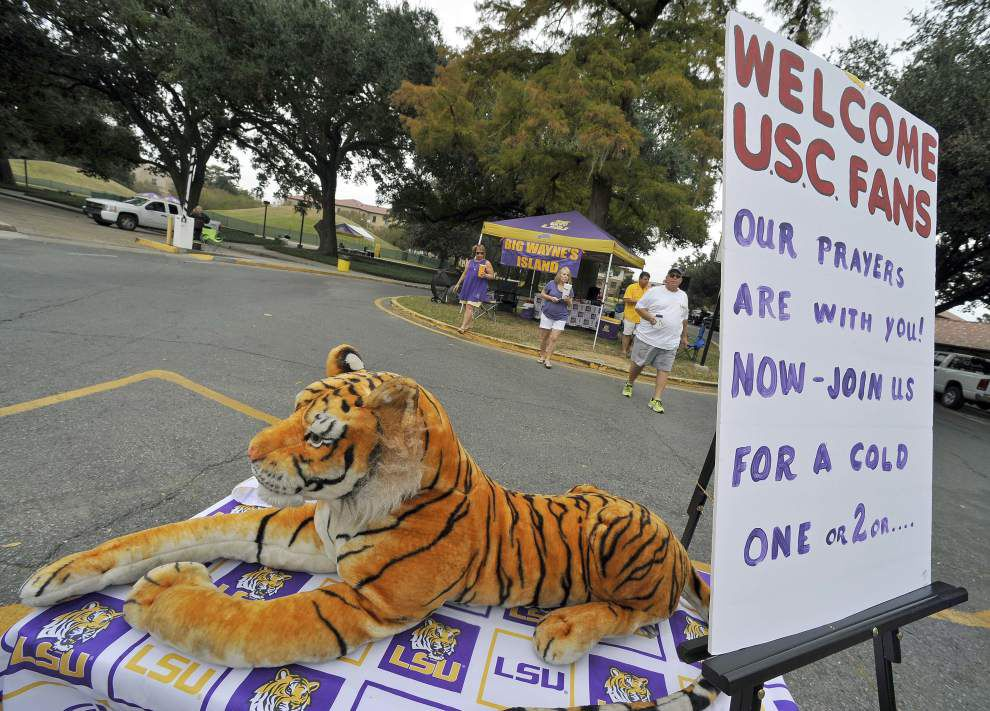 Photos: Running backs Leonard Fournette, Derrius Guice run rampant as LSU defeats South Carolina 45-24 _lowres