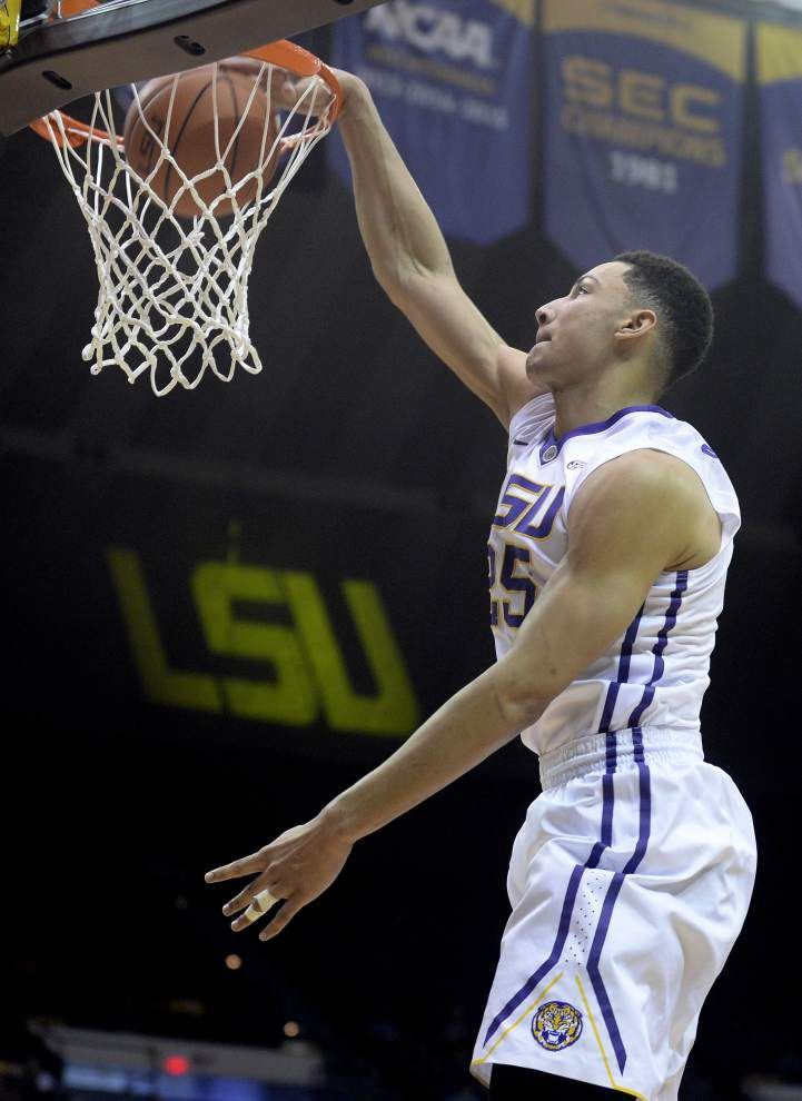 Former LSU star Ben Simmons works out with Sixers _lowres