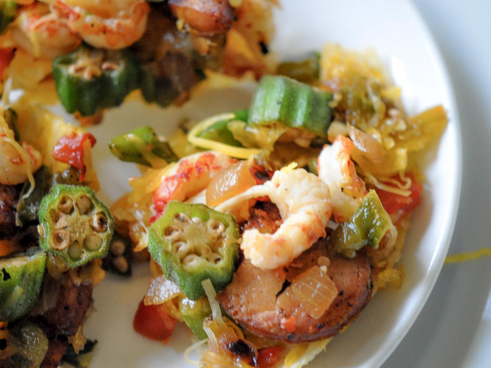 Recipes for Crawfish Gumbo Nachos ...