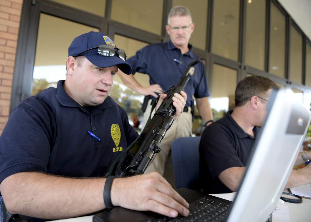 EBR authorities pleased with 'Gas for Guns' event _lowres