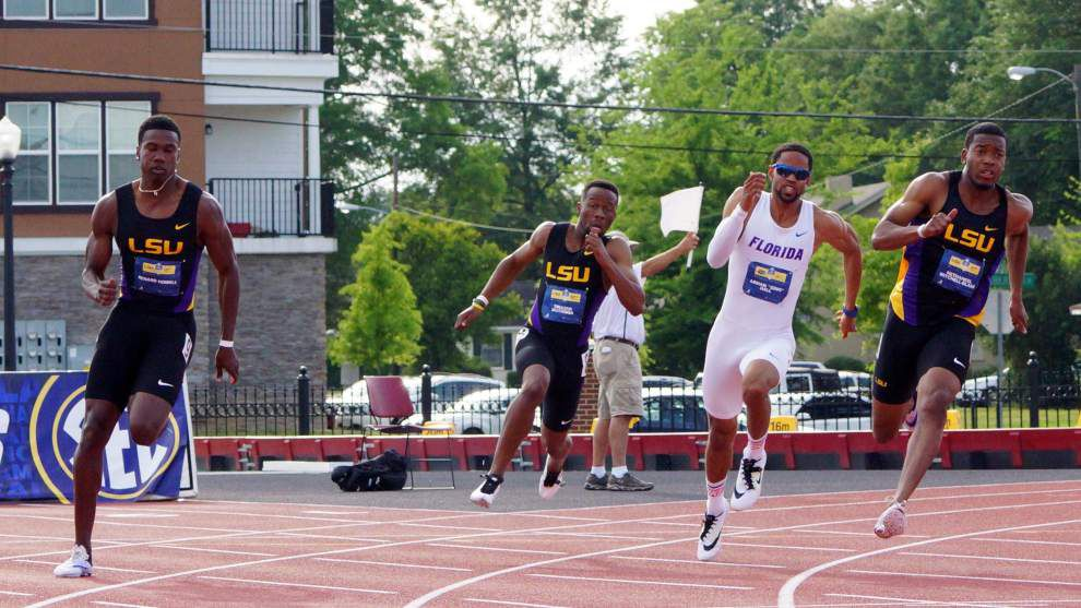 LSU's plan for sprinter Renard Howell pays off _lowres