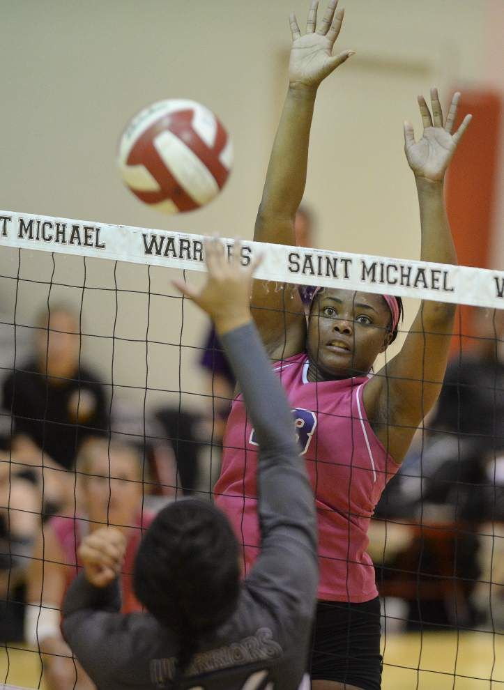 Lutcher, Central get historic seeds in prep volleyball playoffs _lowres