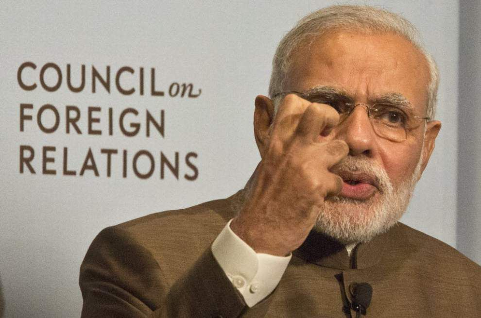 Obama, Modi to put upbeat face on U.S.-India ties _lowres
