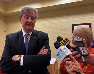 John Kennedy at Press Club 070119