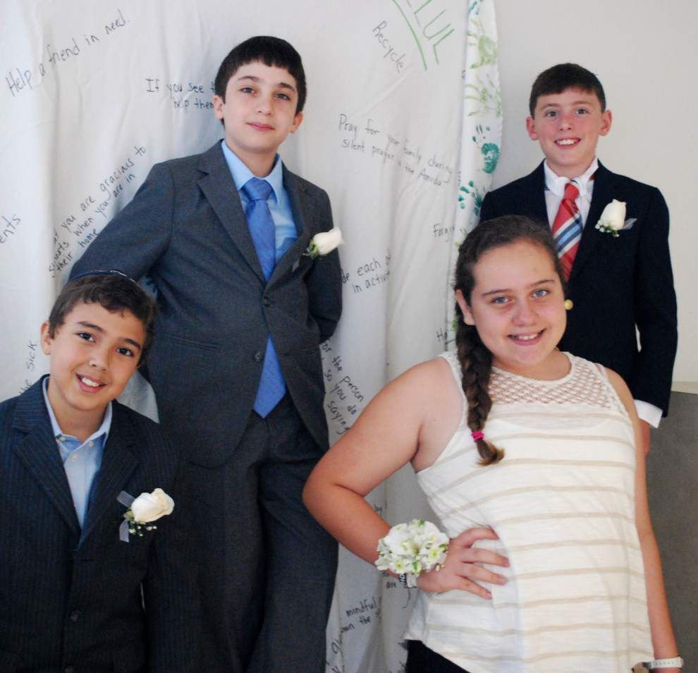 Jewish Community Day School sends graduates on to sixth grade _lowres